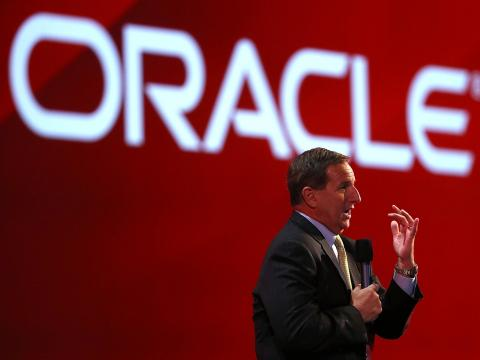 Mark Hurd, uno de los CEO de Oracle