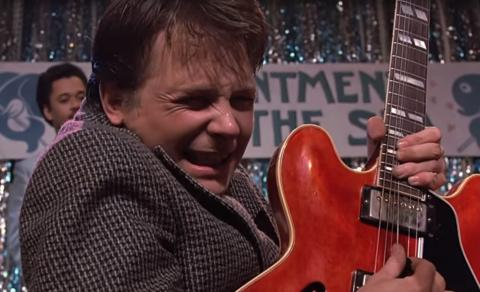 Marty McFly guitarra
