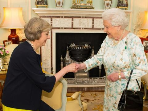 May tells the Queen that Johnson is ready to be prime minister