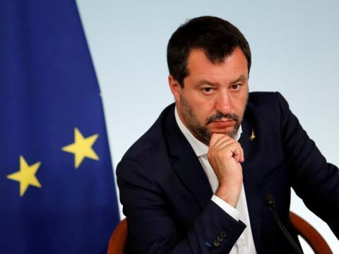 El ministro de Interior de Italia, el ultraderechista Matteo Salvini