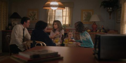 Mrs. Butterworth's aparece en los desayunos de la serie
