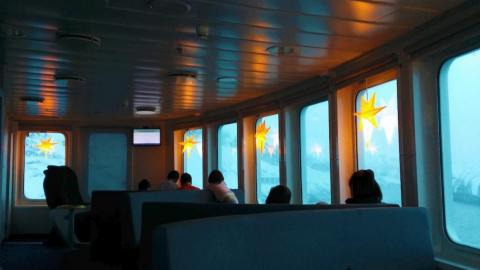 My favorite place, though, was the passenger lounge on deck four.