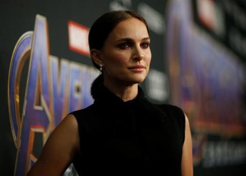 """La actriz Natalie Portman en el estreno mundial de la película """"The Avengers: Endgame"""" en Los Ángeles."""