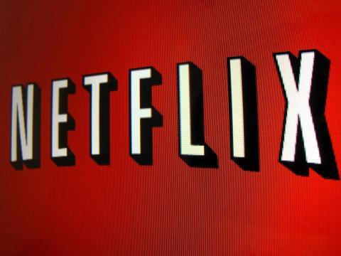 El logo de Netflix.