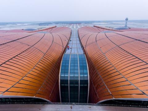 Así es el nuevo Aeropuerto Internacional de Pekín Daxing