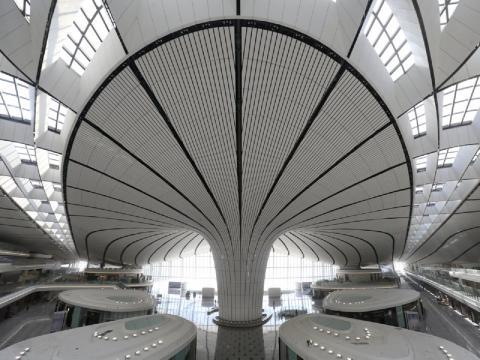 Nuevo aeropuerto internacional de Pekín.