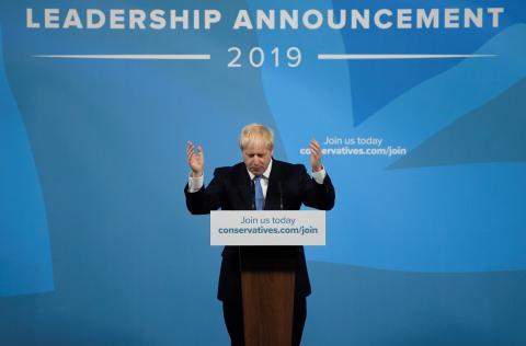 El nuevo primer ministro británico Boris Johnson