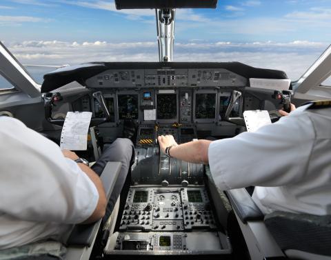 El personal de vuelo no come lo mismo que tú.