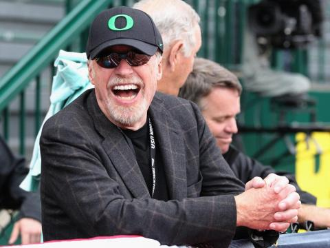 Phil Knight has a very private collection of books.