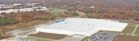 Planta de producción de Ikea en Danville, Virginia.