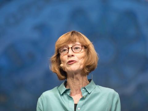 Charis Thompson, profesora de la Canciller y catedrática de Género y Estudios de la Mujer.