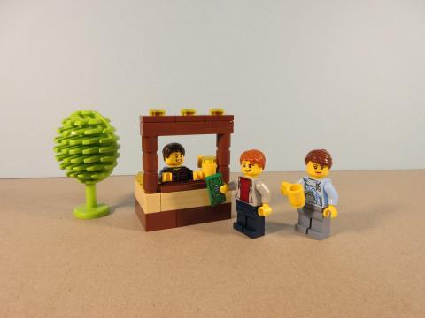 Puesto de limonada LEGO
