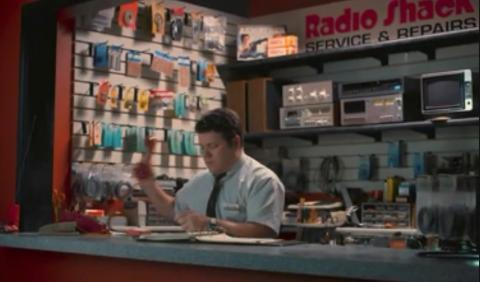 Radio Shack, una cadena donde trabajaba Bob,el novio de Joyce de Stranger Thigns