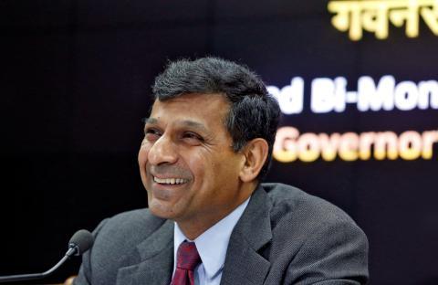 Raghuram Rajan, exgobernador del Banco de la Reserva de India