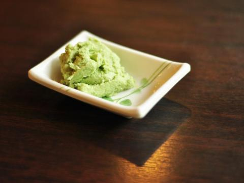 Real wasabi is much rarer than what you're eating.