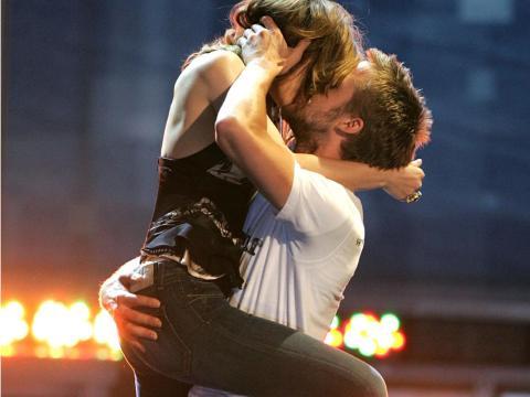 Rachel McAdams y Ryan Gosling en los Premios MTV Movie 2005.