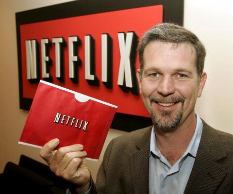 Reed Hasting, CEO de Netflix, en 2004.