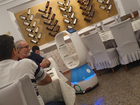 restaurante chino robot