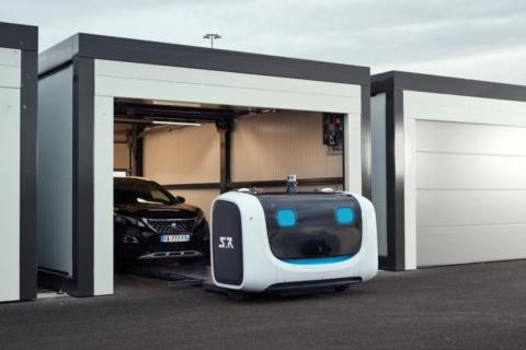 Un robot aparcacoches