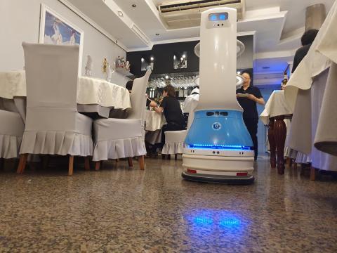robot restaurante chino