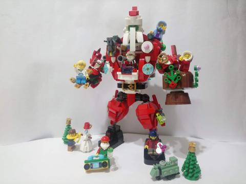 Santa Claus robot LEGO