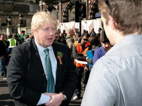 """Semanas antes del referéndum, Cameron dijo que Boris podría ser el próximo primer ministro. Algunos creyeron que su liderazgo en la campaña """"Leave"""" le hizo ganar puntos."""
