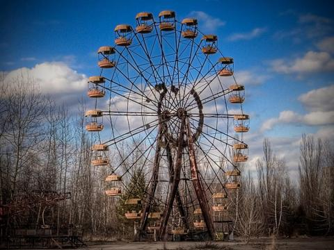 Some reports say a brand-new Ferris wheel opened early to entertain residents after the accident.
