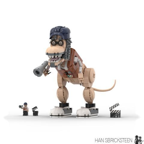 Steven Spielberg Dinosaurio