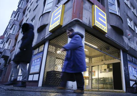 La cadena de supermercados Edeka en Alemania