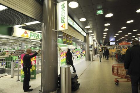 Un establecimiento de la cadena de supermercados Prisma en Finlandia