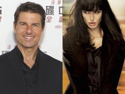 Tom Cruise y Angelina Jolie.