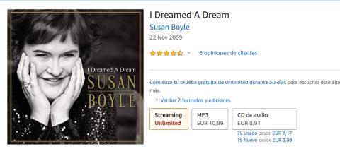 El disco en Amazon.