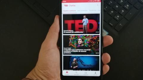 TED aplicación