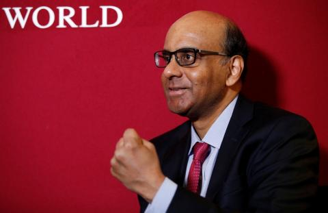 Tharman Shanmugaratnam, presidente de la Autoridad Monetaria de Singapur