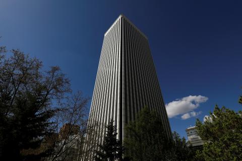 Torre Picasso, en Madrid, propiedad de Pontegadea Inmobiliaria.