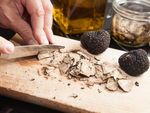 Truffle oil oftentimes contains no truffles.