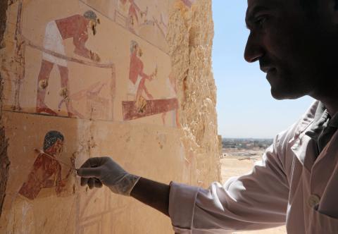 Tumbas faraónicas en Luxor