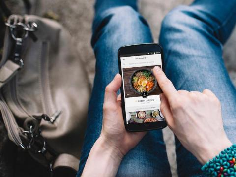 Uber Eats is testing a dine-in option.