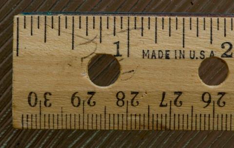 Usar el sistema imperial de medición en lugar del métrico