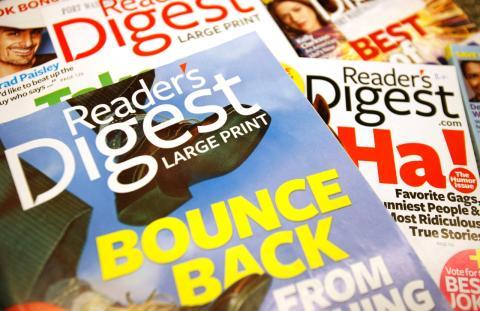 Varios ejemplares de Reader's Digest