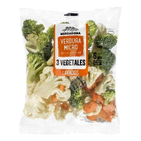 verduras al micro
