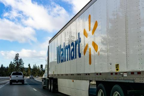 Walmart alone employs more than 8,600 truckers