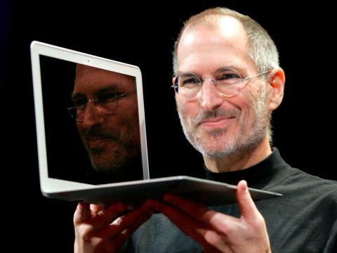 Former Apple CEO Steve Jobs.
