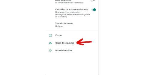 WhatsApp recuperar mensajes.