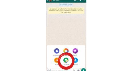 whatsapp ubicacion