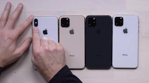 That's rumored to change this year, with the iPhone 11.