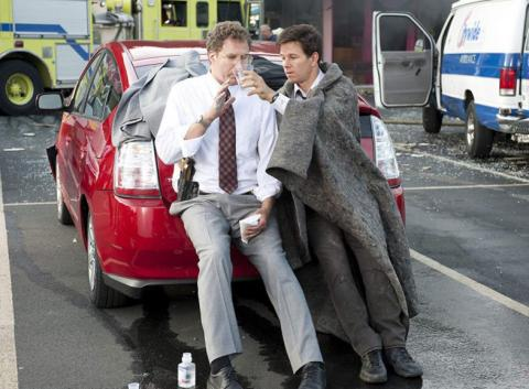 Will Ferrell y Matt Damon, durante la película The Other Guys