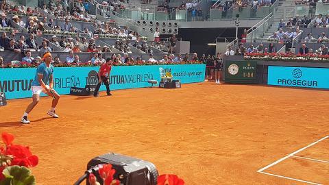 YBVR partido de tenis