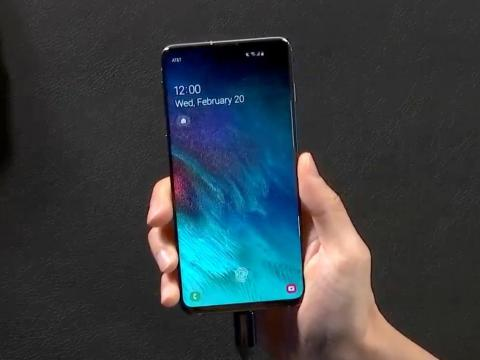 2. The Galaxy Note 10 has a slightly larger display, but the Galaxy S10 is extremely similar, and probably more comfortable for most people.