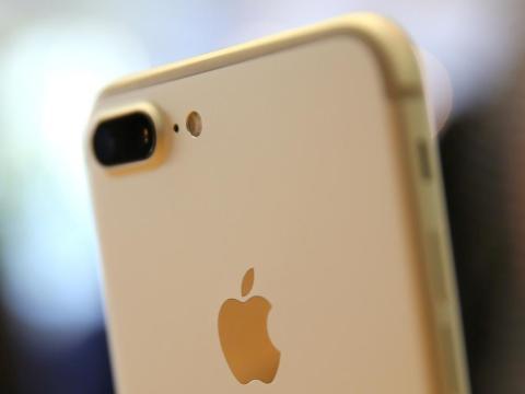 El iPhone 7 Plus fue el primer iPhone en incluir un sistema de cámara dual.
